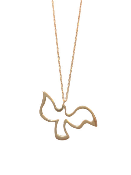 Sterling Silver Bird Necklace Pendant Wholesale 925