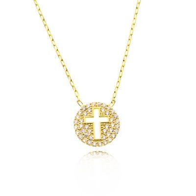 Cross Design Necklace Wholesale Sterling Silver 925