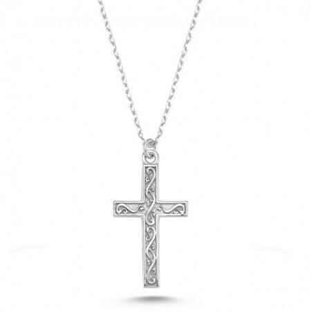Cross Necklace Wholesale Silver 925