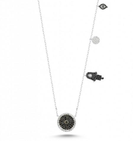 wholesale evil eye hamsa jewelry necklace