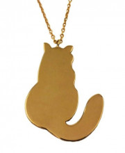 Cat Turkish Wholesale Necklace Rose Gold