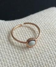 Enamel Design Turkish Rings Wholesale Rose Gold