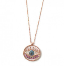 Rose Gold Evil Eye Turkish Wholesale Necklace Silver 925