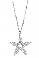 Wholesale Star Design Evil Eye Necklace
