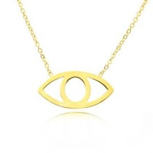 Wholesale Gold 925 Silver Turkish Evil Eye Necklace