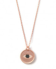Evil Eye Rose Gold Turkish Wholesale Necklace Pendant