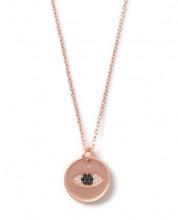 Evil Eye Rose Gold Turkish Wholesale Necklace Pendant