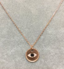 Evil Eye Turkish Wholesale Silver Necklace Pendant