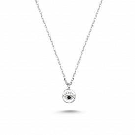 Mini Evil Eye Wholesale Necklace Plated Pendant