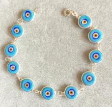 Turquise Handmade Wholesale Evil Eye Turkish Beads Bracelet