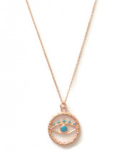 Turquise Blue Wholesale Turkish Evil Eye Necklace