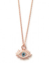 Wholesale Evil Eye Jewelry Rose Gold Necklace Pendant