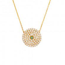 Wholesale Turkish  Evil Eye Necklace Silver 925