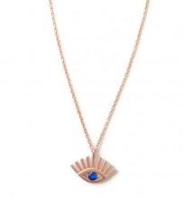 Wholesale Turkish Blue Evil Eye Silver 925 Necklace Pendant