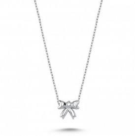 Bow Necklace Pendant Wholesale Sterling 925 Silver