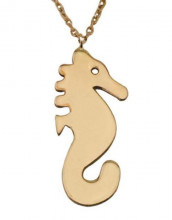 Sea Horse Necklace Sterling Silver Wholesale Rose Gold
