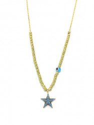 Star Design Wholesale Turkish Evil Eye Necklace