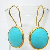 Dangle Drop Chandelier Style Natural Stone Earring