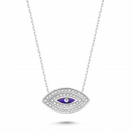 Evil Eye Turkish Necklace Wholesale Silver 925