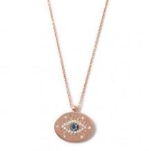 Turkish Evil Eye Necklace Wholesale Sterling Silver Pendant