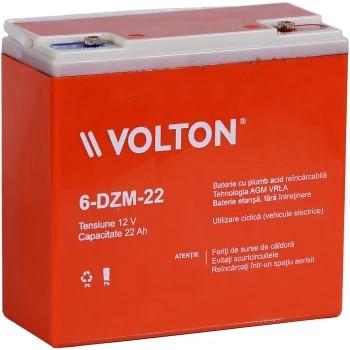Baterie stationara Volton, 12V, 22.0Ah, 6-DZM-22