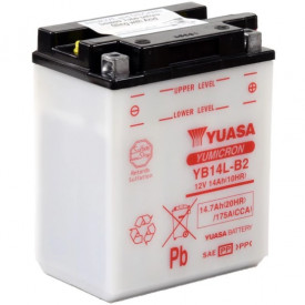 Baterie moto Yuasa YuMicron 12V 14Ah, 175A YB14L-B2 (DC)
