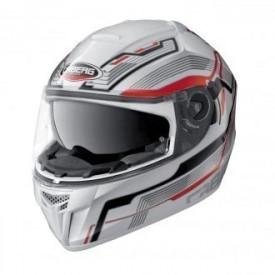 Casca moto Caberg Ego Streamline White / Red