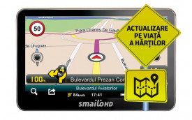 Sistem de navigatie Smailo HD 5.0 Harta Full Europa LMU