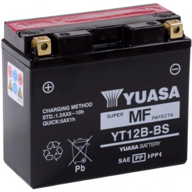 Baterie moto Yuasa AGM 12V 10Ah, 210A YT12B-BS (CP)