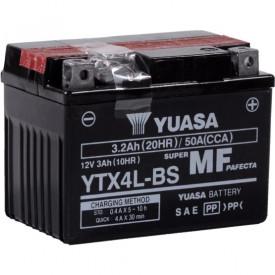 Baterie moto Yuasa AGM 12V 3Ah, 50A YTX4L-BS (CP)