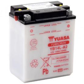 Baterie moto Yuasa YuMicron 12V 14Ah, 175A YB14L-A2 (DC)