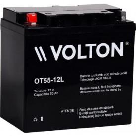 Baterie stationara Volton, 12V, 55.0Ah, OT55-12