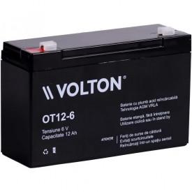 Baterie stationara Volton, 6V, 12.0Ah, OT12-6