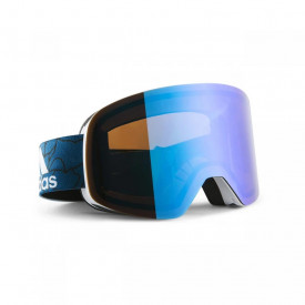 Ochelari Adidas GOGGLES BACKLAND White Matt/Blue