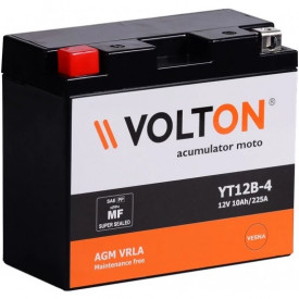 Baterie moto Volton FA 12V 10Ah, 210A (YT12B-4/YT12B-BS)