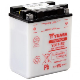 Baterie moto Yuasa YuMicron 12V 14Ah, 175A YB14-B2 (DC)