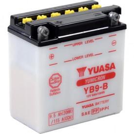 Baterie moto Yuasa YuMicron 12V 9Ah, 115A YB9-B (DC)