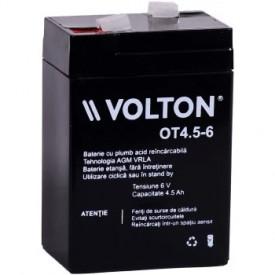 Baterie stationara Volton, 6V, 4.5Ah, OT4.5-6