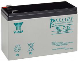 Baterie stationara Yuasa, 12V, 7 Ah, RE7-12