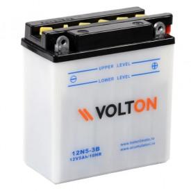 Baterie moto Volton 12V 5Ah, 39A (12N5-3B)