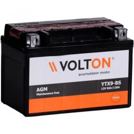 Baterie moto Volton AGM 12V 8Ah, 120A (YTX9-BS)