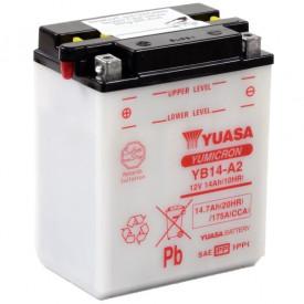 Baterie moto Yuasa YuMicron 12V 14Ah, 175A YB14-A2 (DC)