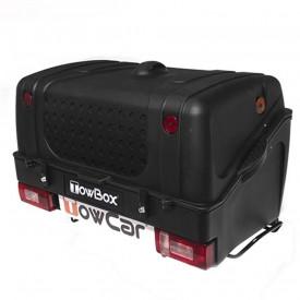 Cutie portbagaj pe carligul de remorcare Towbox V1 Negru