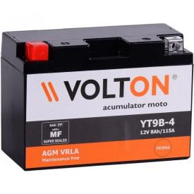 Baterie moto Volton FA 12V 8Ah, 115A (YT9B-4/YT9B-BS)