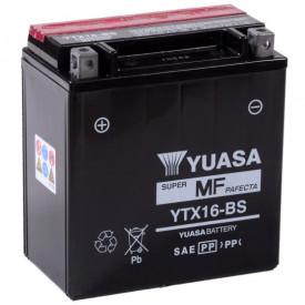 Baterie moto Yuasa AGM 12V 14Ah, 230A YTX16-BS (CP)
