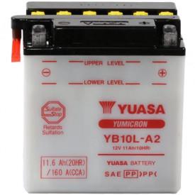 Baterie moto Yuasa YuMicron 12V 11Ah, 120A YB10L-A2 (DC)