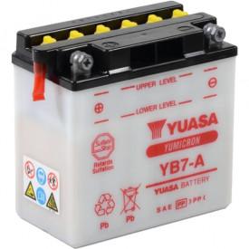 Baterie moto Yuasa YuMicron 12V 8Ah, 105A YB7-A (DC)