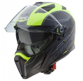 Casca moto Caberg Jackal Supra Matt Yellow Fluo / Anthracite / Black (G6)