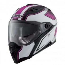 Casca moto Caberg Stunt Blade Matt Black / Pink