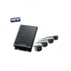 Sistem de 4 camere video auto Alpine HCE-C500X5 pentru BMW X5, vizualizare 360 grade